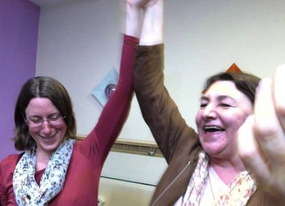 Zwei Direktmandate in Baden-Baden und Rastatt: Bea Böhlen und Kirsten Lehnig