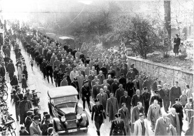 Gedenkstätte,Baden-Baden,Judenverfolgung,Verhaftung,antisemitisches Progrom,
